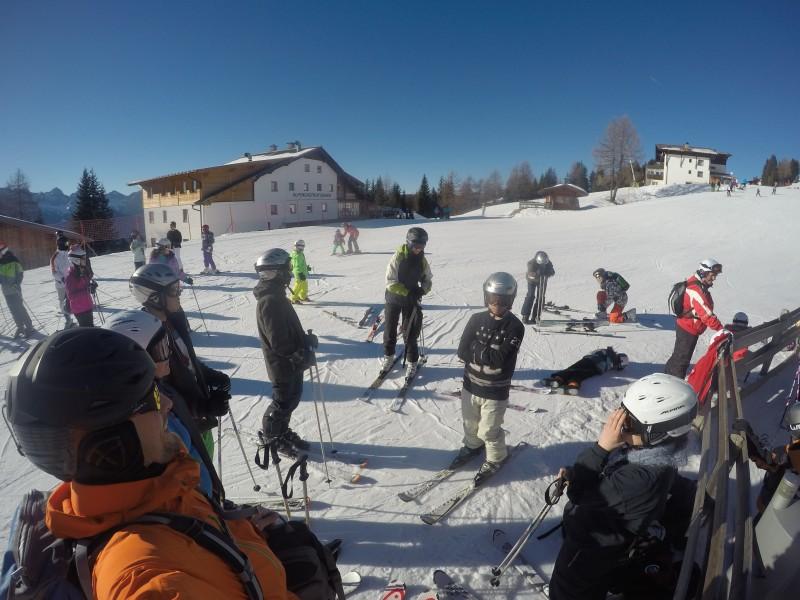 1. Tag Skifahren