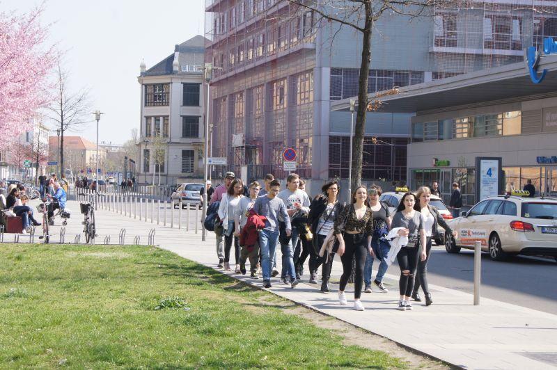Die Stadt Leipzig erwartet uns.