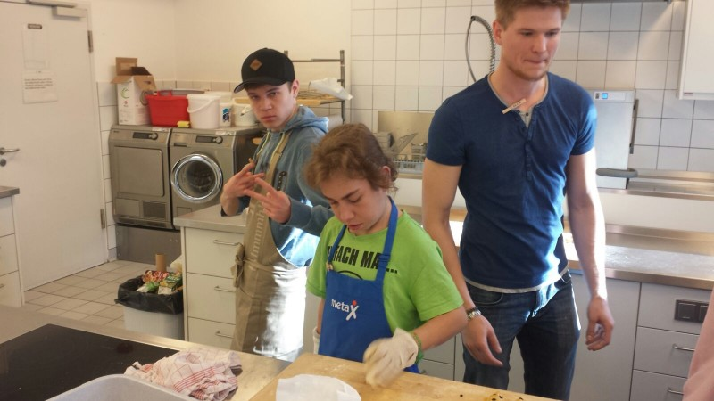 Niklas, Justin und Michi