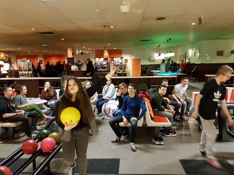 Bowling in Frankfurt
