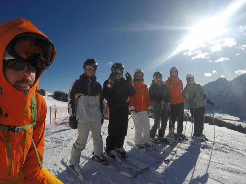 Die Lust zum Skifahren ist geweckt.