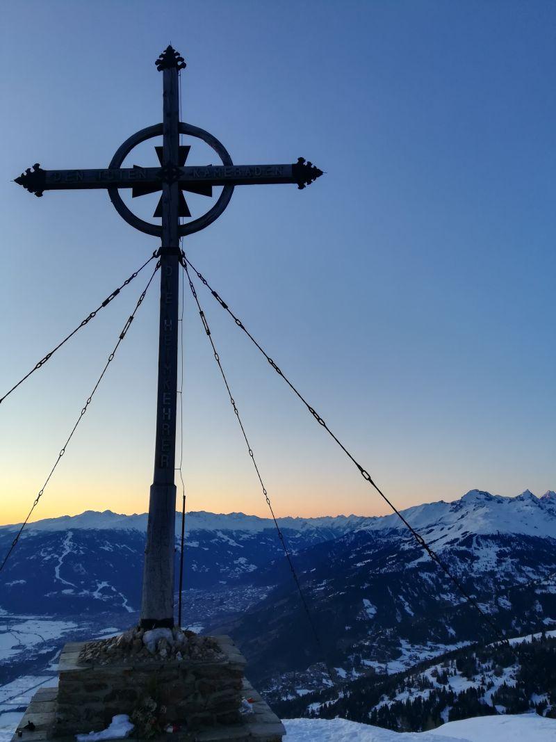 Das Gipfelkreuz vom Ederplan.