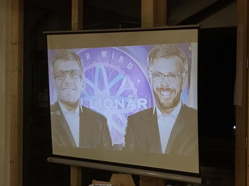 Günther und Jauch oder Basti und Sven