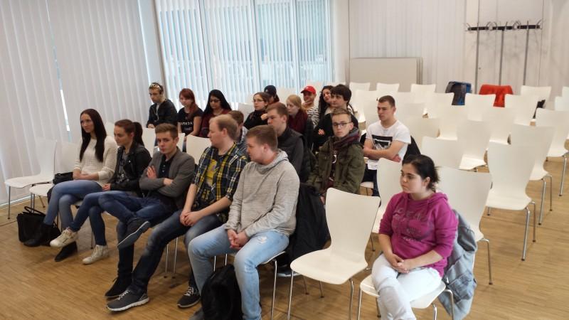 Vortrag von Kathalin Dittrich in der Leipziger Uni